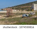 thassos  greece   april 5  2016 ...   Shutterstock . vector #1074530816