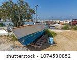 thassos  greece   april 5  2016 ...   Shutterstock . vector #1074530852
