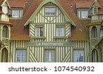 deauville  france   august 18... | Shutterstock . vector #1074540932