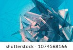abstract background blue...   Shutterstock . vector #1074568166