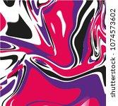 marbel fluid liquid vector... | Shutterstock .eps vector #1074573602