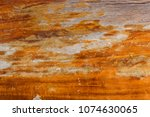 close up old wood table texture ... | Shutterstock . vector #1074630065
