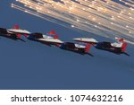 batajnica airbase  serbia  ... | Shutterstock . vector #1074632216