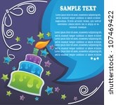 Vector Background With Image O...