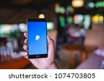 chiang mai  thailand   april 17 ... | Shutterstock . vector #1074703805