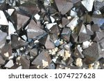 magnetite mineral texture as... | Shutterstock . vector #1074727628