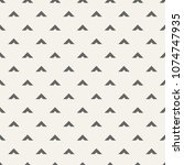 seamless pattern with arrows... | Shutterstock .eps vector #1074747935