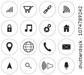 simple web and mobile icon set...