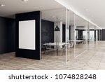 modern coworking office...   Shutterstock . vector #1074828248