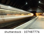 Train Speeding Through York...