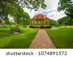 new farm park  brisbane ... | Shutterstock . vector #1074891572