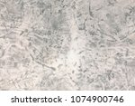 white grunge concrete wall. | Shutterstock . vector #1074900746