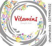 Multi Vitamin Complex Icons....