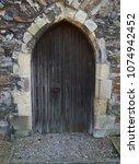 old english church | Shutterstock . vector #1074942452