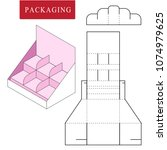 package on package  pop .... | Shutterstock .eps vector #1074979625