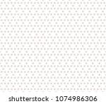 subtle vector seamless pattern. ... | Shutterstock .eps vector #1074986306