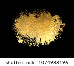 abstract golden texture bright... | Shutterstock .eps vector #1074988196