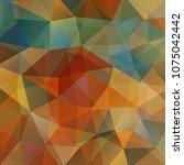 geometric pattern  polygon... | Shutterstock .eps vector #1075042442