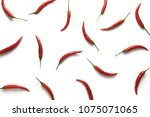 red hot little chili peppers... | Shutterstock . vector #1075071065