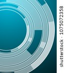 background with circles.... | Shutterstock .eps vector #1075072358