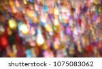 bokeh lights for party  holiday ... | Shutterstock . vector #1075083062