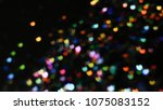 bokeh lights for party  holiday ... | Shutterstock . vector #1075083152