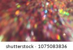 bokeh lights for party  holiday ... | Shutterstock . vector #1075083836