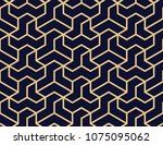 the geometric pattern with... | Shutterstock .eps vector #1075095062