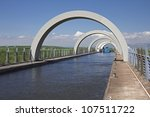looking through the arches at... | Shutterstock . vector #107511722