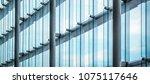 window wall of building ... | Shutterstock . vector #1075117646