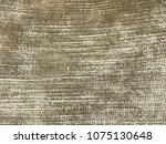 gold or yellow velvet material... | Shutterstock . vector #1075130648
