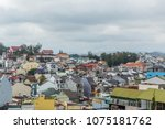 dalat city  vietnam  view of... | Shutterstock . vector #1075181762