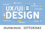 ui and ux design concept...