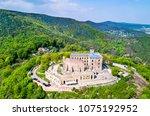 aerial view of hambacher...   Shutterstock . vector #1075192952