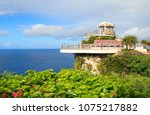 Guam, U.S. - 23rd Dec 2017: Two lovers point look out view point, the site of Guam