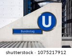 germany  berlin  near reichstag ... | Shutterstock . vector #1075217912