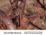 an old neglected farm and... | Shutterstock . vector #1075222328