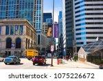 chicago  illinois  usa   march... | Shutterstock . vector #1075226672