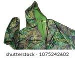 raincoat raincoat isolated on...   Shutterstock . vector #1075242602