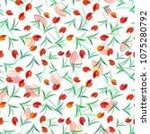 seamless pattern background... | Shutterstock . vector #1075280792