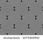 seamless black and white... | Shutterstock . vector #1075304942