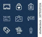 premium set with outline icons. ...   Shutterstock .eps vector #1075319126