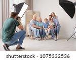 professional photographer... | Shutterstock . vector #1075332536