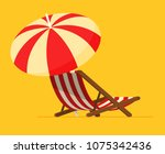 vacation and travel concept.... | Shutterstock .eps vector #1075342436