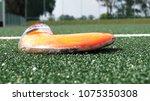 field hockey game | Shutterstock . vector #1075350308
