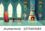Vector Castle Hall  Interior O...