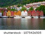 bergen  norway   25 june  2015  ... | Shutterstock . vector #1075426505