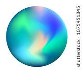 unique gradient mesh orb with...