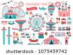 Amusement Park  Circus And Fun...