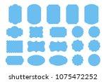 set of geometry banners.... | Shutterstock .eps vector #1075472252